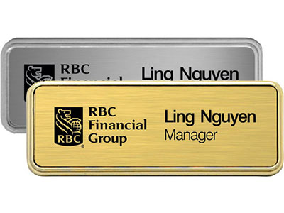 Name Badges / Custom Name Tags in Victoria BC - Heritage